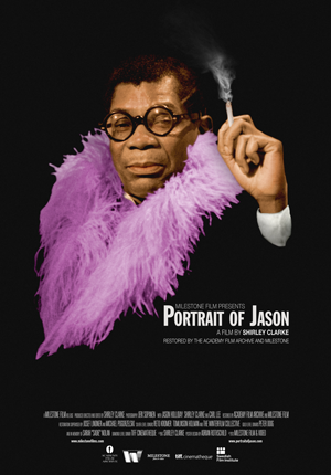 Portrait of Jason poster